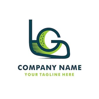 Logotipo de golfe creativo