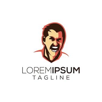 Logotipo de homem forte ibrahimovic