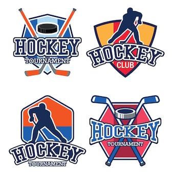 Logotipo de hóquei