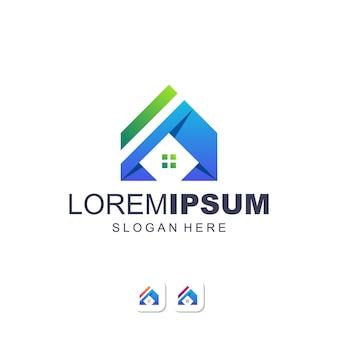 Logotipo de imóveis para casa