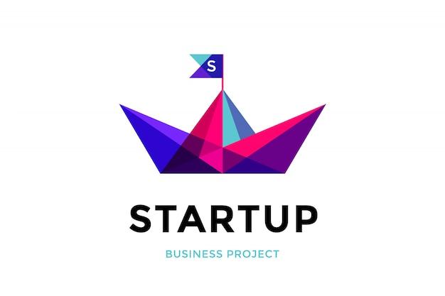 Logotipo de inicialização. projeto de negócios. símbolo do conceito e identidade do negócio