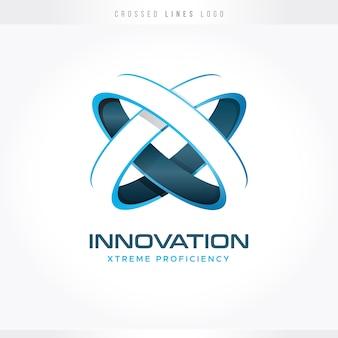 Logotipo de inovação e tecnologia
