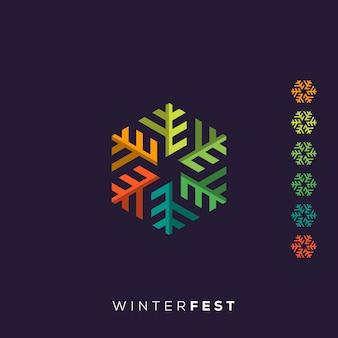 Logotipo de inverno