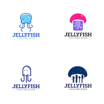 Logotipo de jelly fish