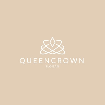 Logotipo de joalheria de diamante de luxo simples e elegante