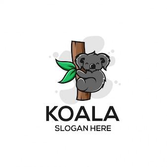 Logotipo de koala