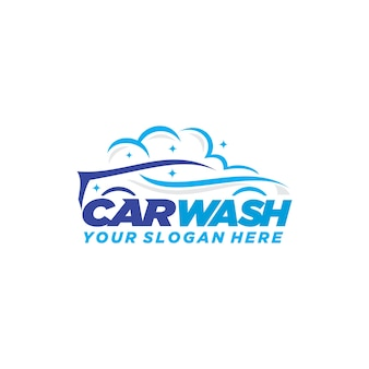 Logotipo de lavagem de carro