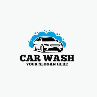 Logotipo de lavagem de carros