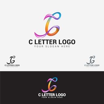 Logotipo de letra c