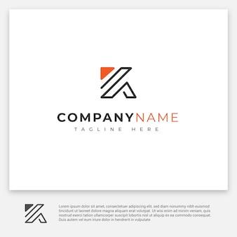 Logotipo de letras k