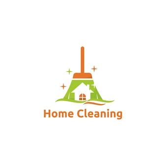 Logotipo de limpeza