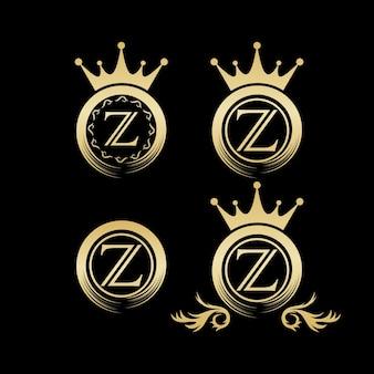 Logotipo de luxo, modelo, ilustração
