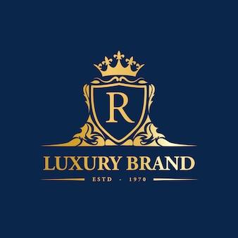 Logotipo de luxo premium