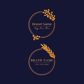 Logotipo de luxo