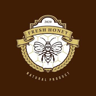 Logotipo de mel fresco