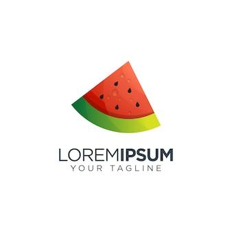 Logotipo de melancia