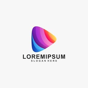 Logotipo de mídia incrível