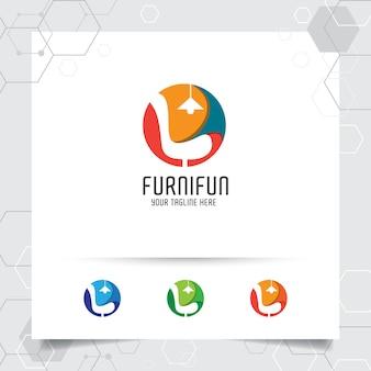 Logotipo de móveis