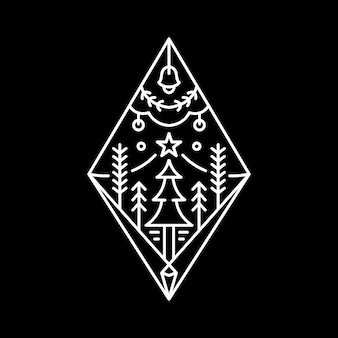 Logotipo de natal