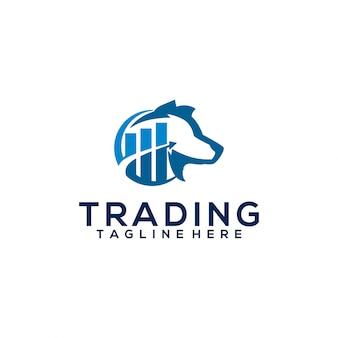 Logotipo de negociação