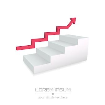 Logotipo de negócios mínimo criativo.