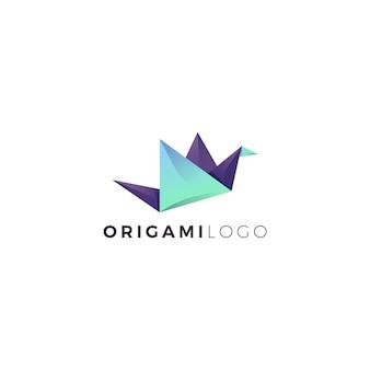 Logotipo de origami