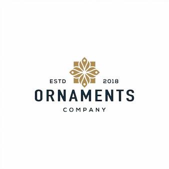 Logotipo de ornamentos