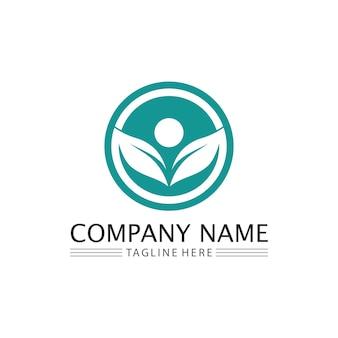Logotipo de pessoas, equipe, trabalho de pessoas de sucesso, grupo e comunidade, vetor e design de logotipo de empresa e grupo cuidado, ícone de família logotipo de sucesso