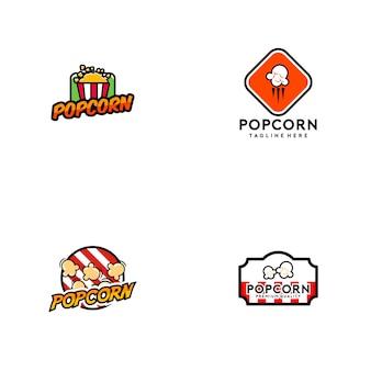Logotipo de pipoca
