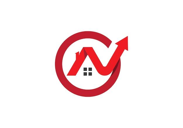 Logotipo de propriedade e construção