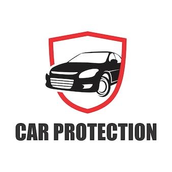 Logotipo de proteção do carro