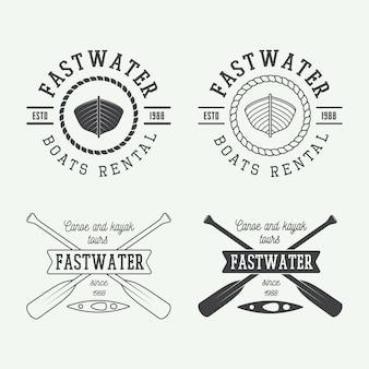 Logotipo de rafting