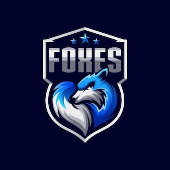 Logotipo de raposas