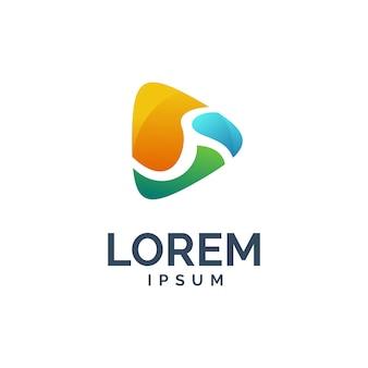 Logotipo de reprodução de mídia
