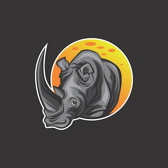 Logotipo de rinoceronte