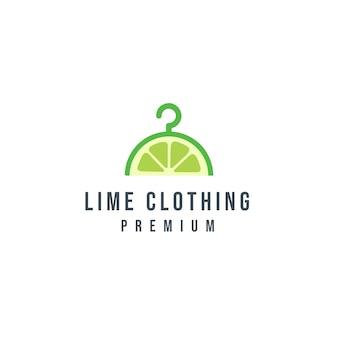 Logotipo de roupas de limão