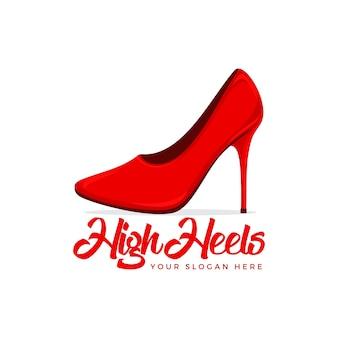 Logotipo de salto alto