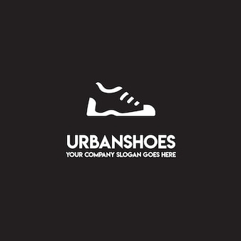 Logotipo de sapatos urbanos