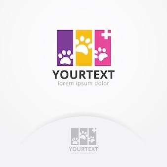 Logotipo de saúde animal