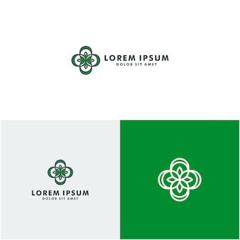 Logotipo de saúde ecológica