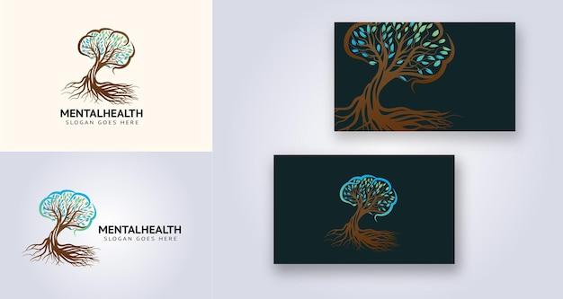 Logotipo de saúde mental