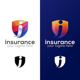 Logotipo de segurança de seguros