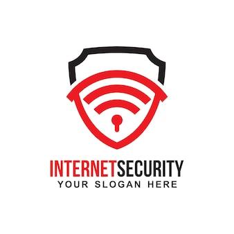 Logotipo de segurança na internet