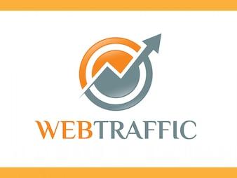 Logotipo de setas de tecnologia de rede