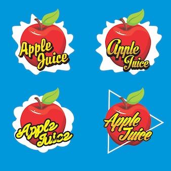 Logotipo de suco de frutas