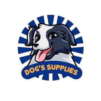 Logotipo de suprimentos do cão