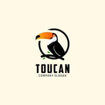 Logotipo de tucano animal