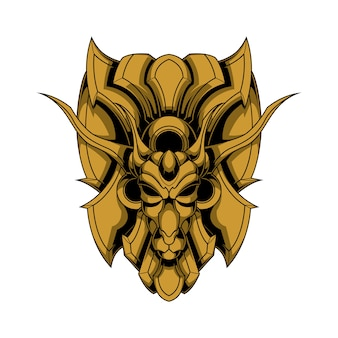 Logotipo de veado de ferro