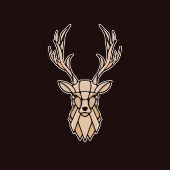 Logotipo de veado