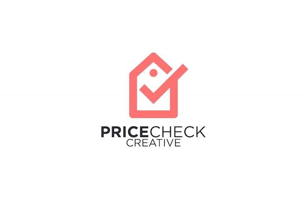 Logotipo de verificação de preço